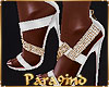 P9)White Court Shoes