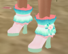 Candy Kitty Boot