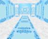 Blue/White Wedding Room