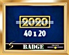 2020 Gold Badge