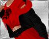 Black jacket & Red