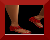 $A$(RED)FRINGIE SANDALS