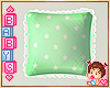 !✿ Kids Green Pillow *