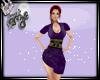 (ED) Geisha Purple Dress