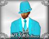 DJL-Trilby Hat Aqua