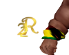 R22 Rasta Wrist Bandana