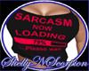 {SS} Sarcasm Black