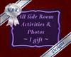 Side room sign