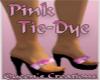 ~Q~Pink Tie-Dye Platform