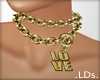 .LDs. Love Chain gold