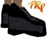 Grey w/ Black Trim Kicks