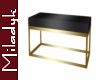 MLK Gold CoffeeTable