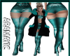 Teal Club Boots