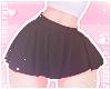 F. Simple Skirt Black