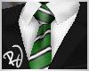 -RJ- Suit w/ Green Tie