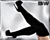 Black PVC Long Boots