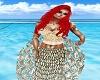 Ariel Mermaid Top Peach