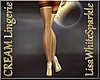 Cream Stockings & Heels