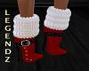 Sanda Red Boots
