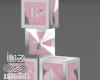 Baby Girl Cubes