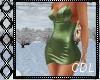 !C* Classy Green Dress