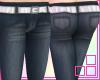 [f] NavyBlue SkinnyJeans