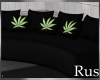 Rus Weed Curved Couch