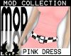 -cp Mod Pink Dress