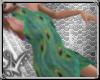 peacock layerable wrap