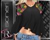 Maria black blouse