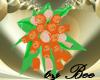 Peach Wedding Bouquet