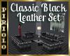 Classy Black Leather Set