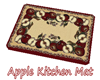 Apple Kitchen Mat