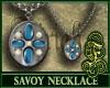 Savoy Necklace Blue