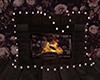 {K}Floral Fireplace