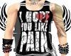 FE heart break pain tank