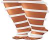 White Feet Ribbon