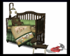 B98 Jungle Baby Crib set