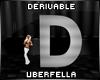 Derivable Letter D