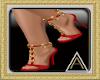 (AL)Jenna Heels Red