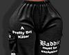 ღ Black Bad Joggers
