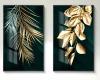 Acrylic Green Canvas