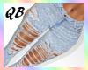 Q~Glitter Jeans L/RLL