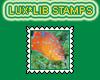 Stamp Garibaldi Goldfish