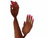Pink Fingernails
