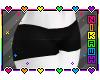 Digi Black Shorts