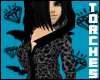 $ Leopard Print Hoody