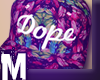 MH Dope floral snapback