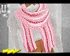 !U| PinkLeo Print Scarf