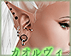 Elf Ears With Piercings